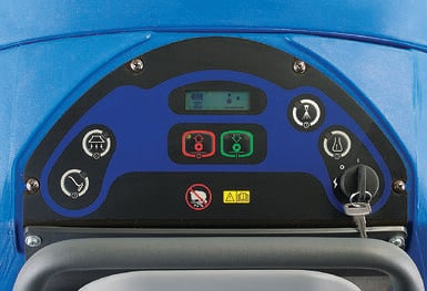 Clean Track L24 Control Panel - multiple cleaning modes