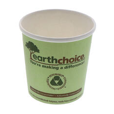 Earthchoice PLA Coated Soup Container