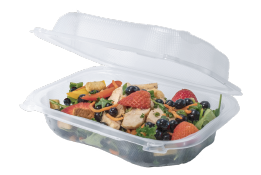 Genpak Clover PP Hinged Container