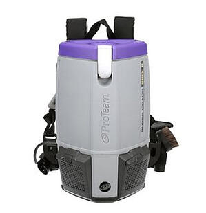 ProTeam Super Coach Pro 6qt Backpack Vacuum