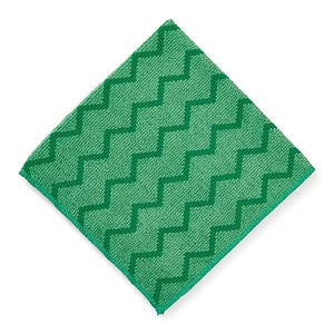 Rubbermaid HYGEN™ Microfiber General Purpose Cloth - Green