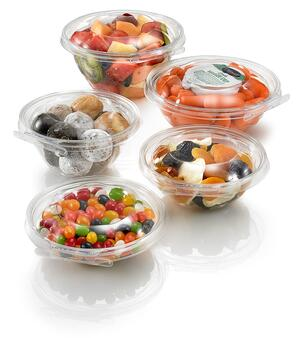 Fresh Food in Tamper Evident containers