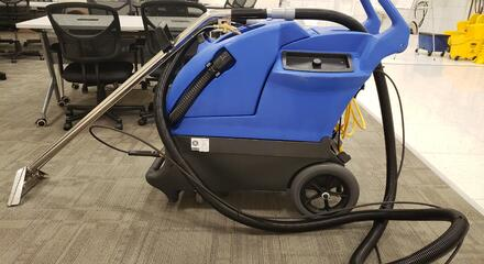 how to sanitize a carpet with a carpet extractor