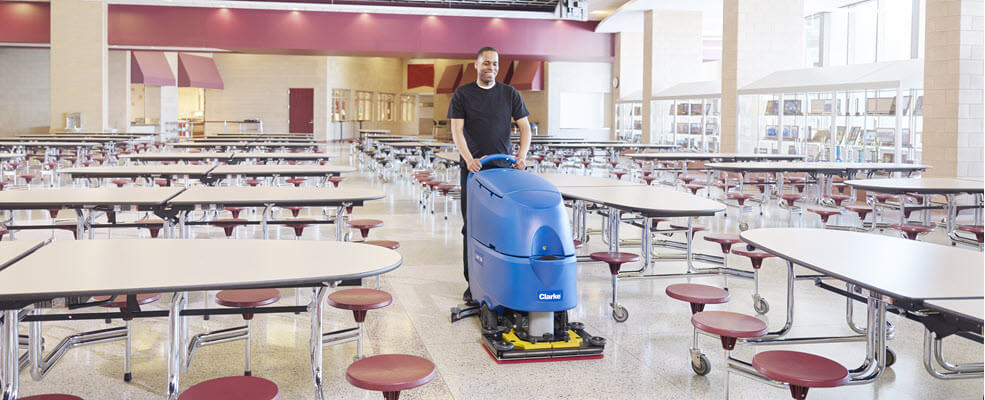 Clarke® CA60 Walk Behind Automatic Floor Scrubber Review