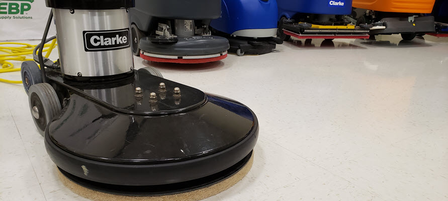 Clarke® Ultra Speed Pro® 1500 Electric Floor Burnisher Review