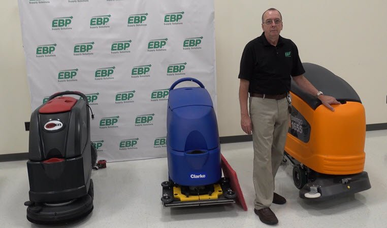 TASKI® swingo® 1655 Review: Best Walk Behind Floor Scrubber