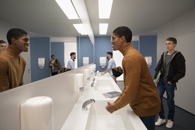 How to Choose the Right Soap or Sanitizer Dispenser for your Campus: 7 Considerations