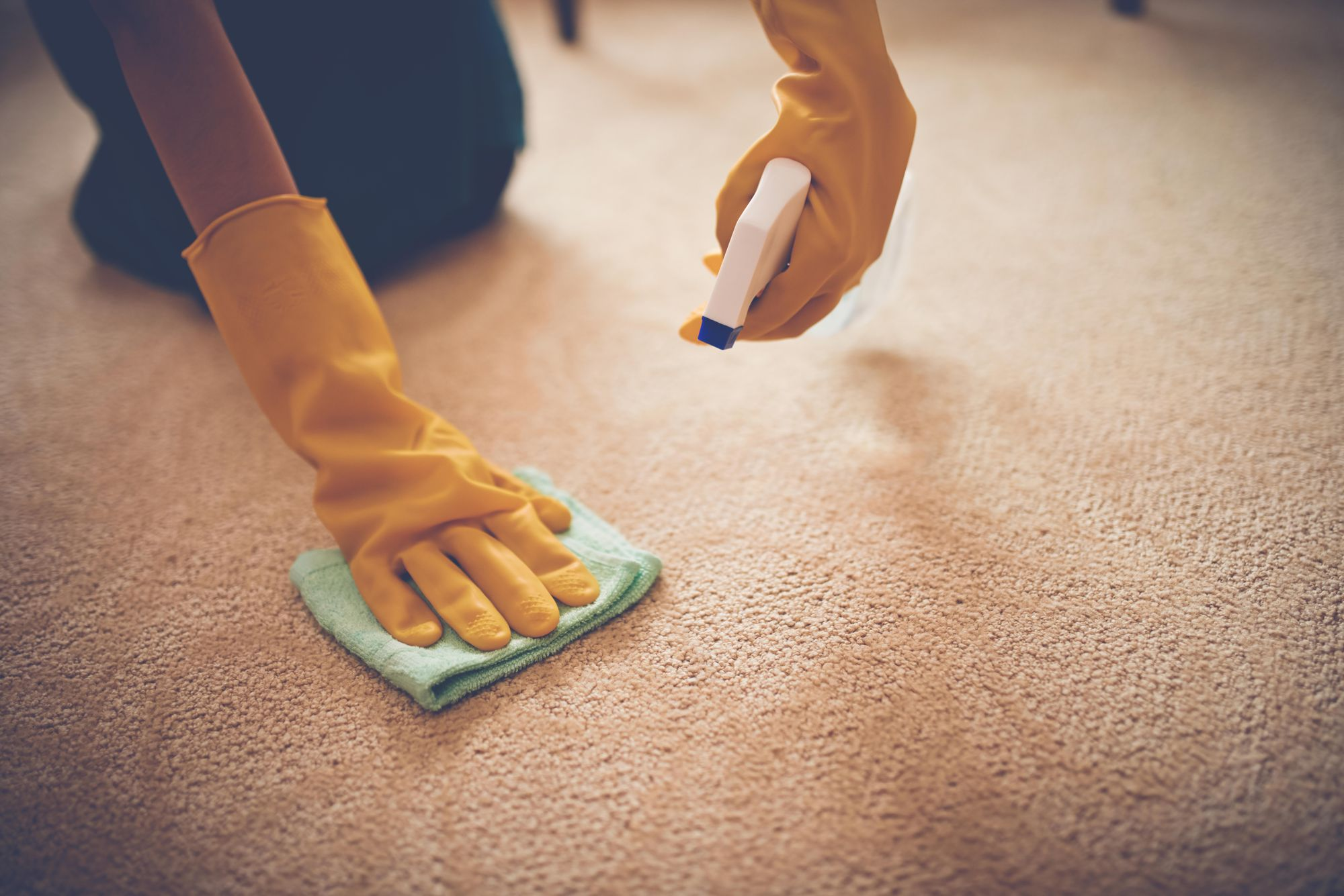 How to Remove a Carpet Stain